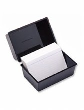 Client Record Card Index Box