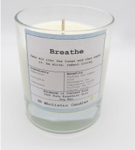 Aromatherapy Candle #Breathe