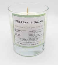 Aromatherapy Candle #Chillax & Relax