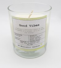 Aromatherapy Candle #Good Vibes
