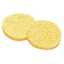 Beauty Bar Mask Removing Sponges x 2