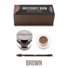 B.Perfect Cosmetics Indestracti'Brow Lock & Load  Eyebrow Pomade & Powder Duo 4g - Brown