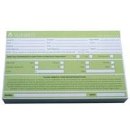 Agenda Client Record Card Spray Tan 100Pk