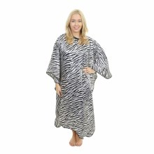 Crewe Orlando Zebra Cutting Cape Black/White
