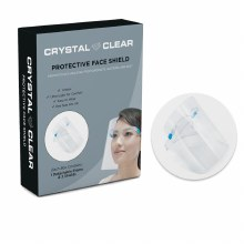 Crystal Clear Protective Face Sheild