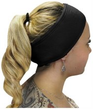Eccono Black Cotton Headband