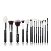 Jessup Beauty 15Pc Makeup Brush Set Black/Silver T180