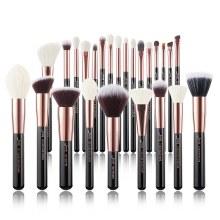 Jessup Beauty 25pc Makeup Brush Set Black/Rose Gold T155
