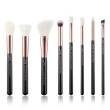 Jessup Beauty 8Pc Makeup Brush Black/Rose Gold T158