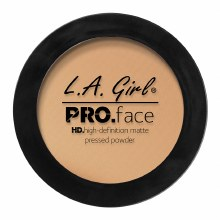 L.A. Girl Pro.Face Matte Pressed Powder-Soft Honey