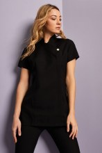 One Button Tunic Black Size 8