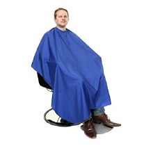 Orlando Barber Cape Blue