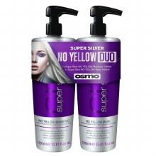 Osmo Duo Super Silver No Yellow Shampoo & Conditioner 1 Litre Pack