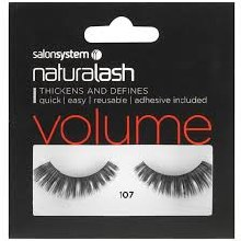 Salon System Naturalash Volume - 107