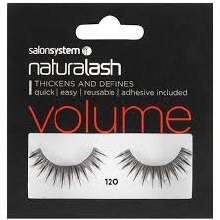 Salon System Naturalash Volume - 120