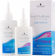 Schwarzkopf Natural Styling  Hydrowave 2 80ml (Tinted/Highlighted Hair)