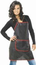 Sibel Cindy Apron Black & Red