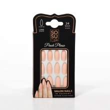 SoSu By SJ Salon Nails In Seconds Peach Please (24 Nails)