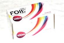 STR Foil 100mm x 10cm Silver 15 Microns