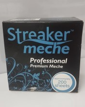 Streaker Meche Professional Premium Meche Short 200 Sheets