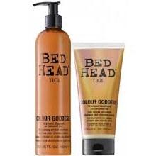 Tigi Bed Head Electric Hair Colour, Colour Goddess Duo Shampoo 400ml & Conditioner 200ml