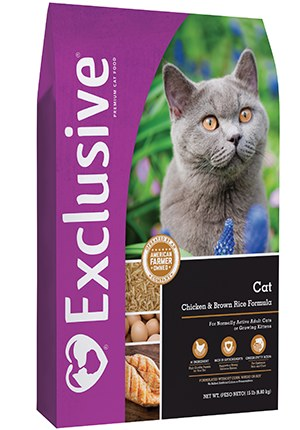 Exclusive Cat Chicken & Brown Rice 5 lbs.