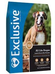 Exclusive All Life Stages Lamb & Brown Rice Formula 30 lbs.