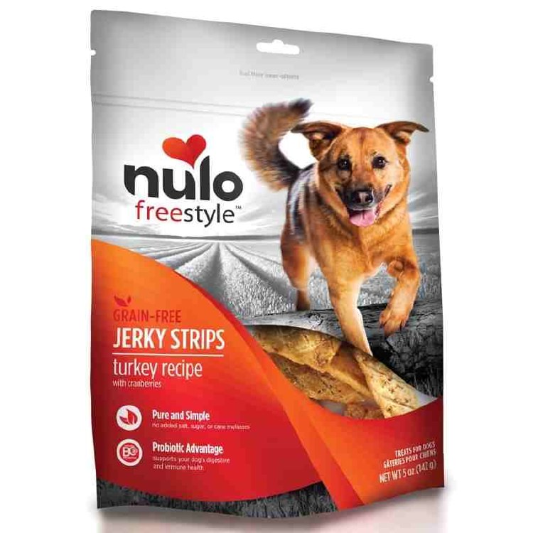 Nulo Jerky Treat, Turkey 5 oz.