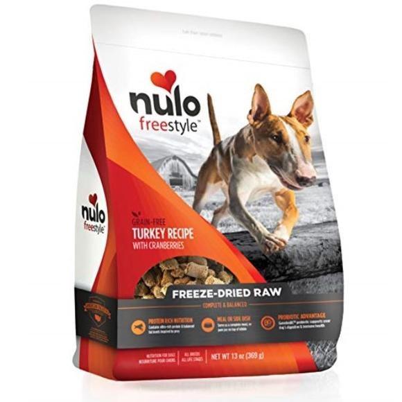 Nulo Raw Freeze-Dried, Tky 5oz