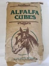 Alfalfa Hay Cubes, ASI 50 lbs.