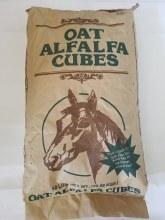 Oat Alfalfa Hay Cube, ASI 50#