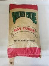 Alfalfa Hay Cube, Valley Pride 50 lbs.