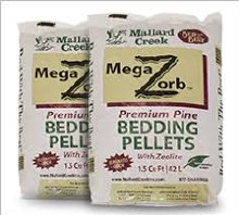 Bedding Pellets, Mallard MegaZorb