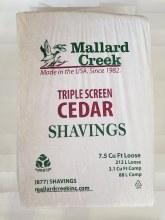 Shavings, Cedar Mallard 7.5 cuft