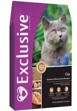Exclusive Cat Chicken & Brown Rice 15 lbs.