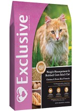 Exclusive Cat Weight Management & Hairball Care Adult Cat 5 lbs.