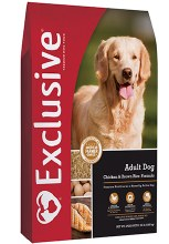 Exclusive Adult Dog Chicken & Brown Rice Formula 30 lbs.