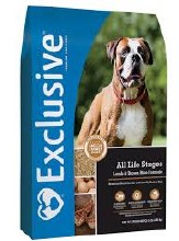Exclusive All Life Stages Lamb & Brown Rice Formula 15 lbs.