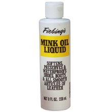 Fiebings Mink Oil Liquid 8 oz.