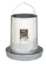 Little Giant Poultry Feeder, Hanging Galvanized 30 lbs. Capacity