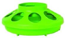 Little Giant Auto Feeder Base, Plastic 1 qt. Green