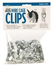 Little Giant Cage Clips, 1 lbs.