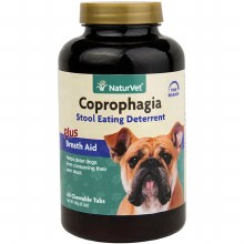 NaturVet Coprophagia Stool Eating Deterrent 60 Tabs