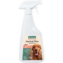 NaturVet Herbal Flea spray for Pets 16 oz.
