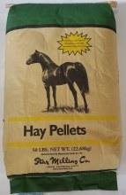 """Oat Hay Pellets Star 1/4"""" 50 lbs."""