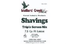 Shavings, Mallard Triple Screened  7.5cu.ft