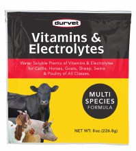 Vitamin/Electrolytes 100gm,Dur