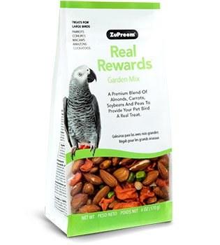 ZuPreem Real Rewards Garden Mix for Large Birds 6 oz.