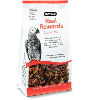 ZuPreem Real Rewards Orchard Mix for Large Birds 6 oz.