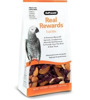 ZuPreem Real Rewards Trail Mix for Large Birds 6 oz.